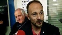 Réaction du coach de St-P¨ryvé St-Hilaire après le tirage au sort de la Coupe de France : ce sera Monaco !