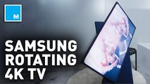 Samsung's new vertical 4K TV is perfect for...TikTok?