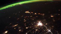 Astronaut Captures Meteor Shower And Northern Lights From Space