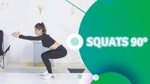 Squats 90° - Santé Physique