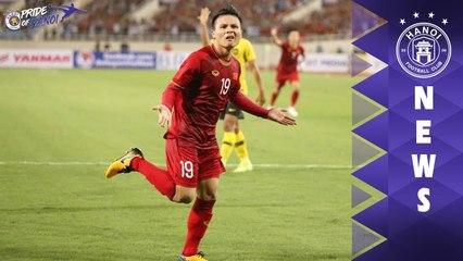 Thống kê ấn tượng của Quang Hải - Lá cờ đầu của U23 Việt Nam tại VCK U23 Châu Á 2020 | HANOI FC