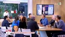 """Pourquoi France 5 a décidé de couper en direct Franck Dubosc alors qu'il était en pleine interviewsur France 5 dans """"C à vous"""" ?"""