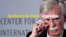 Destitution de Trump : un possible témoignage embarrassant