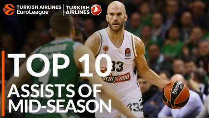 Top 10 Assists of Mid-season!