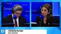"""Jean-Luc Mélenchon : """"On ne gouverne pas un pays à coups de pied et de matraque"""""""