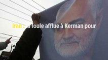 Iran : la foule afflue à Kerman pour les obsèques du général Soleimani