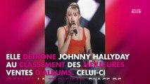 Angèle en tête des ventes d'albums 2019, elle détrône Johnny Hallyday