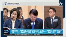 30분 만난 추미애-윤석열