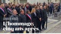 Charlie Hebdo : cinq ans après, l'hommage aux victimes de l'attentat