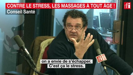 Contre le stress, les massages à tout âge !