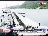 Delapan Kapal Perang RI Bersiaga di Laut Natuna