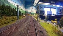 Model Train Journey and Cab Ride on a German Model Railway Layout - Video by Pilentum Television about rail transport modeling, trains, model railroading, railway modelling, model railways and model railroads