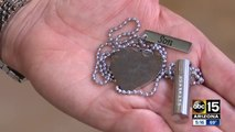 Valley woman looking for owner of found memorial necklace with son's ashes