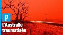 Feu en Australie :  la peur au ventre des habitants