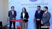 Reforma Zgjedhore/ Nisma 'Thurje', Hajdari e Gjoni dorëzojnë në Kuvend peticionin me 50 mijë firma