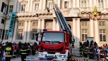 Genova - La Befana dei Vigili del Fuoco in Piazza Matteotti (06.01.20)