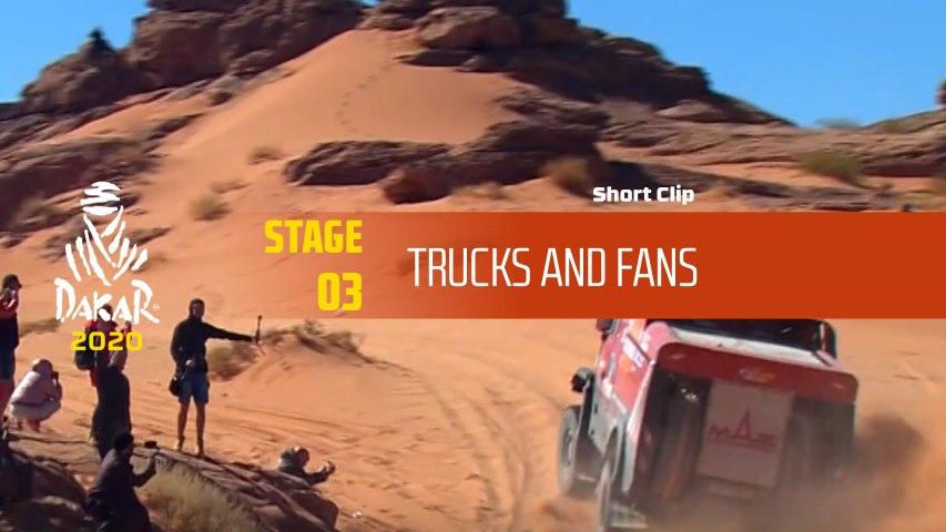 Dakar 2020 - Étape 3 / Stage 3 - Trucks and Fans