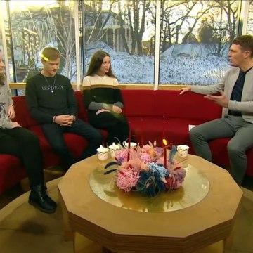 Interview med Joesphine, Albert og Cecilie | Tinka Julekalender | Go Morgen Danmark | TV2 Danmark