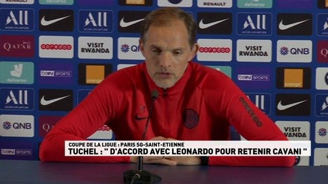 "Tuchel : ""D'accord avec Leonardo..."""