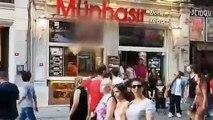 İstiklal caddesi fiyat panosunda 'cinsel içerikli film'