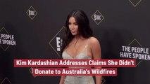 Kim Kardashian And The Australia Wildfires