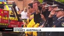 Avustralya'da yangınla mücadelede hayatını haybeden gönüllü itfaiyecilere son veda
