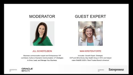 Webinar: This Female Business Leader Shares Her 7 Biggest Lessons on Growth