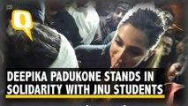Deepika Padukone Joins Protest Against Violence at JNU
