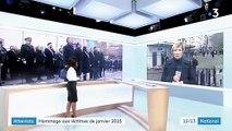 Attentats : hommage aux victimes de janvier 2015