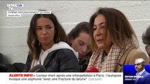 """Livreur mort après une interpellation à Paris: l'autopsie évoque une asphyxie """"avec fracture du larynx"""""""