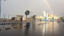 أمطار ورياح.. الطقس السيئ يضرب مطروح