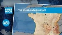 The route / Parcours - Paris-Nice 2020