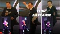 Elon Musk danse objectivement mal, et ses salariés ont adoré