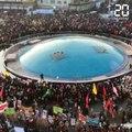 Iran: Une foule immense rassemblée devant le cercueil de Soleimani