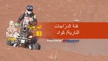 داكار 2020 - المرحلة 3 (Neom / Neom) - ملخص فئة الدرّاجات النارية/ كواد