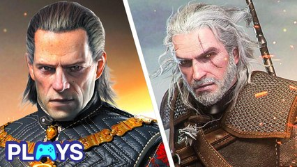 The Best Witcher Characters (Video Games) | MojoPlays