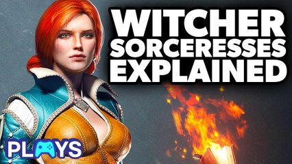 Witcher's Sorceresses Explained! | MojoPlays