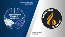 Germani Brescia Leonessa - Promitheas Patras Highlights | 7DAYS EuroCup, T16 Round 1
