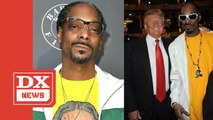 Snoop Dogg Shares Throwback Clip Of Him Roasting Donald Trump's Presidential Aspirations