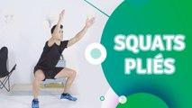 Squats pliés - Santé Physique