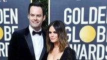 Bill Hader And Rachel Bilson Showoff Relationship At Golden Globes