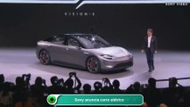 Sony anuncia carro elétrico