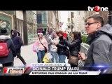 Aksi Trump Palsu di Depan Trump Tower
