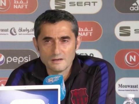 """Supercoupe d'Espagne - Valverde : """"On joue en Arabie Saoudite car le sport est une industrie, toujours en recherche de nouvelles sources de revenus"""""""