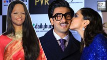 Laxmi Looks Beautiful, Deepika KISSES Ranveer At Special Screening Of Chhapaak