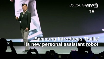 Samsung introduces 'Ballie' the personal assistant robot