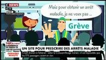 Ce site internet français qui fait scandale en proposant des arrêts maladies de 3 jours en quelques clics seulement
