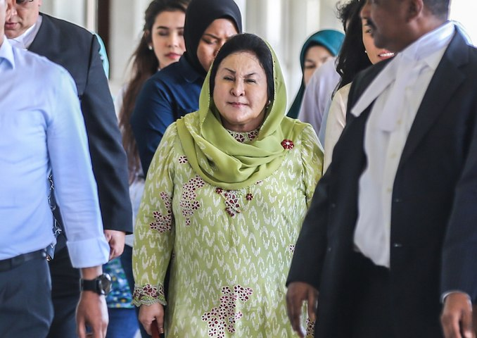 Rosmah on MACC's incriminating audio clips: 'My lawyers will take care of it'