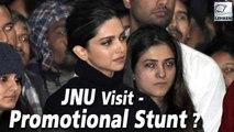Deepika Padukone's JNU Visit A Promotional Stunt For Chhapaak?