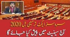 Services Act Amendment bill to be presented in Senate today